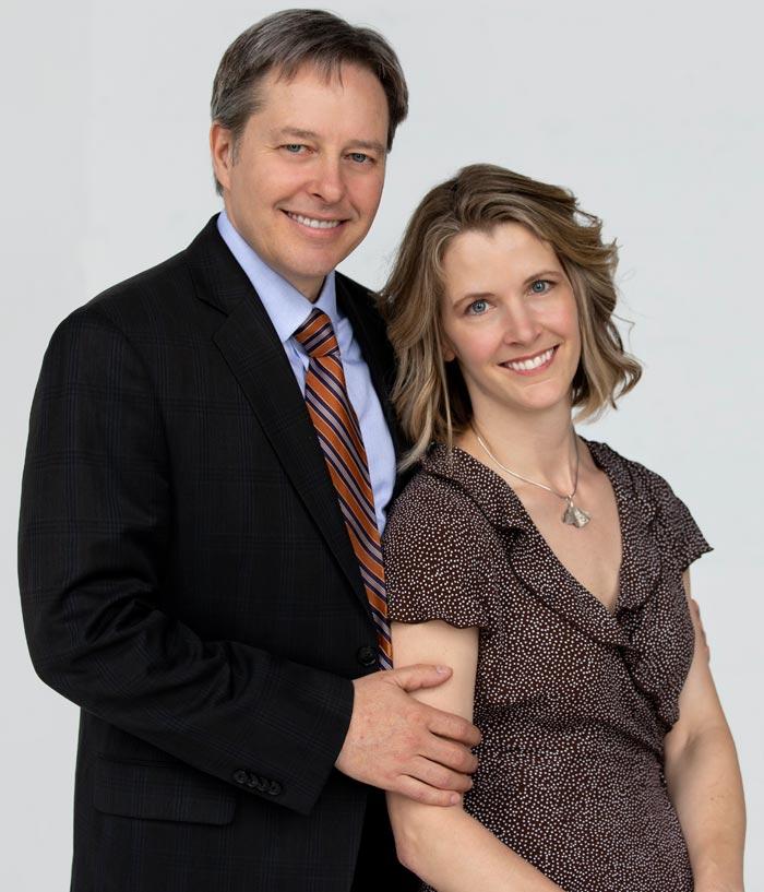 Robert and Jaya Hahn