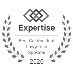 Best Car Accident Lawyers in Spokane - Badge