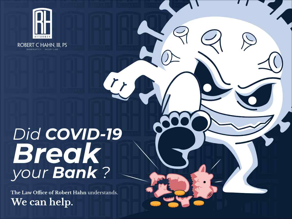 Did COVID-19 Break your Bank? (illustration)