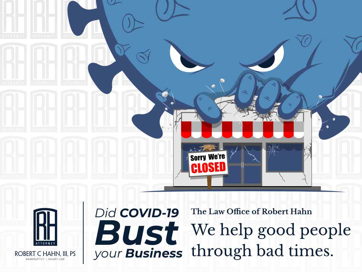 Did COVID-19 Bust Your Business?  (illustration)