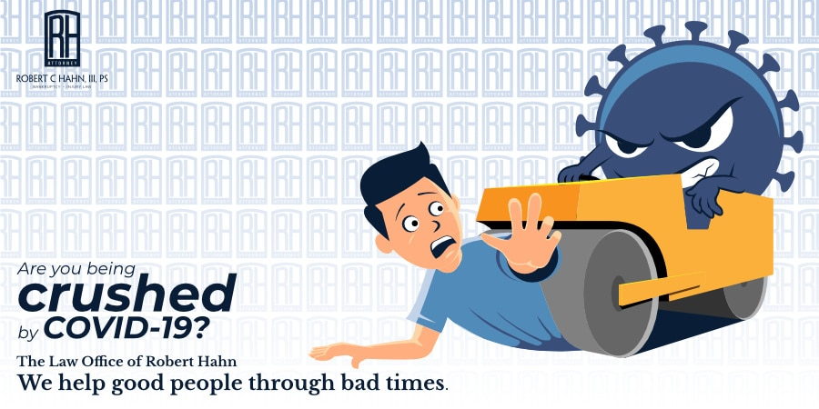 Are You Being Crushed by COVID-19? - ad graphic